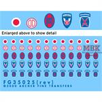 US 10th 30th 31st 37th Infantry + 11th Airborne