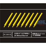 "USN 5""(127MM)/25 Metal Barrel"