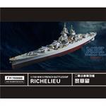 WW II   French Battleship Richelieu