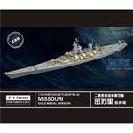 WW II  USN Battleship Missouri