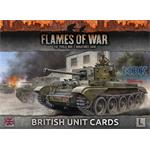 Flames Of War: Late War British Unit Cards