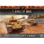 Flames Of War: Late War German Unit Cards
