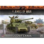 Flames Of War: Late War US Unit Cards