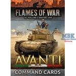 Flames Of War: Italian Command Cards