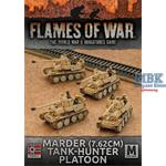 Flames Of War: Marder (7.62cm) Tank-hunter Platoon