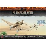 Flames Of War: Ju 87 Stuka Dive Bomber Flight