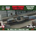 Flames Of War: 10.5cm FlaK39 Railway car