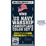 WWII Navy Warship Camouflage color Set 2 (3x10ml)