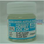 Flat Clear/Klar Matt (40ml) Matt