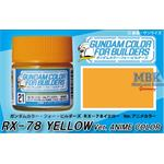 Gundam Color (10ml) RX-78 Yellow