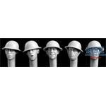 5 Heads British WWI Steel helmets