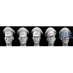 5 Heads German Officer formal Peak Caps