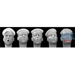 5 Heads with US Navy sailor hat