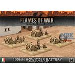Flames Of War: Italian 100mm Howitzer Battery