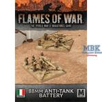 Flames Of War: Italian 88mm Anti-Tank Battery