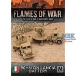 Flames Of War: 90mm on Lancia Battery
