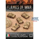Flames Of War: L6/40 Light Tank Platoon