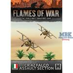Flames Of War: CR.42 Falco Assault Section