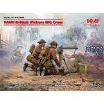 WWII British Vickers MG Crew  (2 figures)