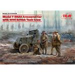 Model T RNAS Armoured Car + WWI British Tank Crew