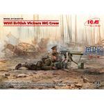 WWI British Vickers MG Crew (2 figures)