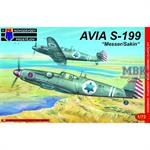 "Avia S-199 ""Messer/Sakin"" IAF NEW MOULD!"