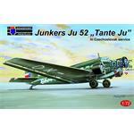 Junkers Ju-52/3M Czechoslovak service