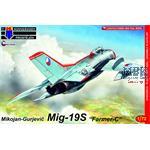 Mikoyan MiG-19S Farmer-C 'CzAF'