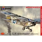 Piper L-4 Grasshopper with Bazookas