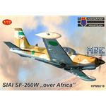 "SIAI SF-260W ""Over Africa"""