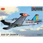 "SIAI SF-260EA ""In Italian Service"""