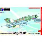 """Mikoyan MiG-21MF Fished J """"Czechoslovak AF"""""""