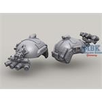 Ops-Core Ballistic Maritime Helmet w/GPNVG-18 1/16