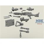 M240 Swing Arm Var.1 set 1/35