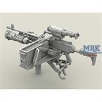 M240 Swing Arm Var.2 set 1/35