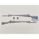 M1 Garand w/fixed Bayonet set