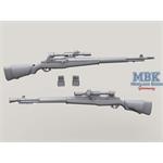 M1D Sniper Garand set