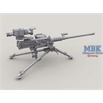 M2A1 QCB HMG on M3 tripod