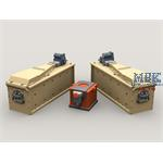 M134 Minigun 3,000 round 3-Bay Ammo Box + Battery