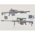 Barrett M107A1 Sniper Rifle set