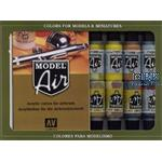 Model Air Set Metallfarben  (16 Stück)