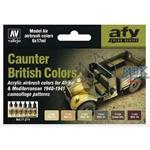 MA71211 Model Air Set British Caunter Colors