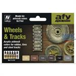 Model Air Set Wheels & Tracks