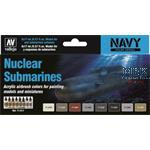 Model Air Set Nuclear Submarines