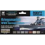 Kriegsmarine WWII German Colors