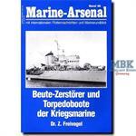 Beute-Zerstörer und Torpedoboote der Kriegsmarine