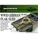 WWII German Flak Sled 1:35