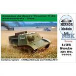 Russian Artillery Tractor Komsomoletz late