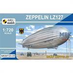 Zeppelin LZ127 'Graf Zeppelin (DELAG, DZR)