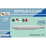 Zeppelin R-class 'Großkampf-Typ' 1:720
